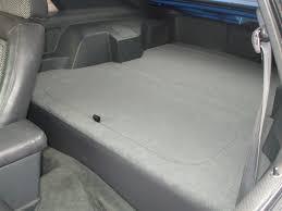 fox mustang seats 1979 86 ford mustang hatchback rear seat delete kit