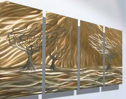 wall decoration metal wall art decor and sculptures within