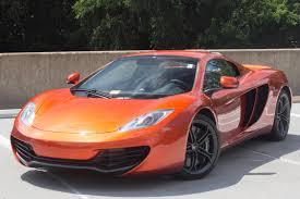 orange mclaren 12c 2014 mclaren mp4 12c stock 4n003492 for sale near vienna va