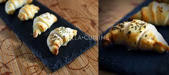 recette de cuisine salé recette de croissants salés pour l apéritif stella cuisine