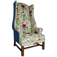 pamila velvet wingback chair jani armchair ellington wingback