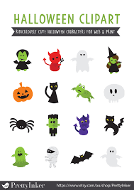 halloween clip art kawaii halloween cute halloween pictures