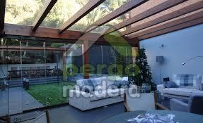 porches acristalados porches de madera acristalados