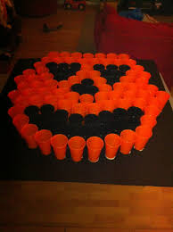 kiddie halloween background ping pong toss game for halloween carnival diy pinterest