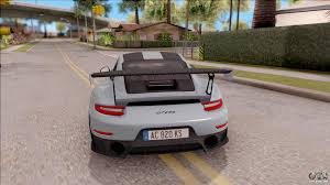 Gt2 Rs 0 60 Porsche 911 Gt2 Rs Weissach Package Eu Plate For Gta San Andreas