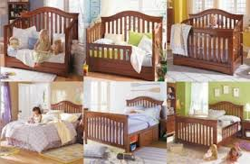 Crib That Converts To Bed Crib Turns Into Bed Ba Cribs Convert Size Bed Bed Image Idea