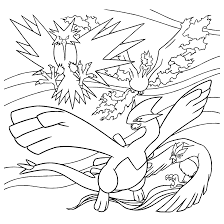articuno free coloring pages on art coloring pages