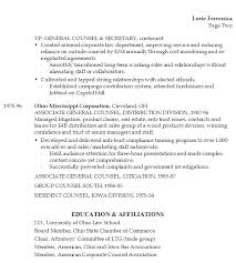 Secretary Sample Resume by Resume Chief Business Law Legal Admin Susan Ireland Resumes