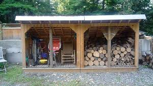 Free Firewood Storage Rack Plans by Diy Lean To Shed Plans Plans Diy How To Make Firewood Plan Plan
