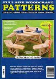 the 25 best octagon picnic table plans ideas on pinterest