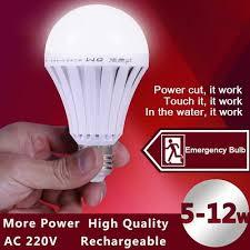 touch l light bulbs qoo10 led smart bulb e27 5w 7w 9w 12w led emergency light