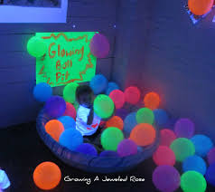 black light halloween decorations with we adore this glow in the