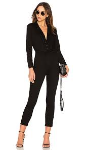 fitted jumpsuit free take me out fitted jumpsuit in black revolve