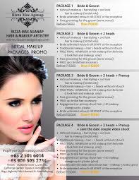 bridal makeup package bridal makeup packages rizza mae aganap professional makeup