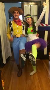 Woody Halloween Costumes Diy Buzz Lightyear Costume Couplescostume Toystory Woody