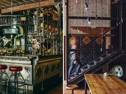 steampunk interior design at