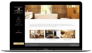 hotel website design hotel website design and development oneclick media services