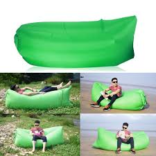 inflatable sofa air bed chair seat blow up lounger bag festival