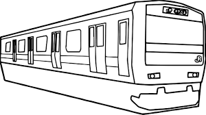 japan train coloring page wecoloringpage
