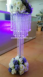large crystal chandelier table top centerpieces for weddings table decor