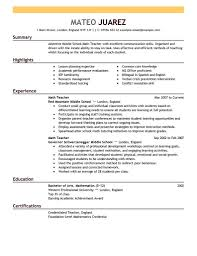 Microsoft Office Letter Templates Examples Of Resumes Resume Template Summary Objective Top