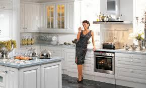 nobilia landhausk che küche l form mit insel kuchedesign