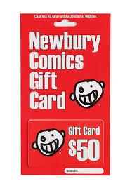 store gift cards newbury comics 50 gift card newbury comics