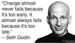 a collection of quotes from seth godin
