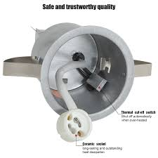 recessed lighting kit 3 inch etl listed air tight ic housing