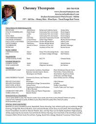 Dance Resume Template Ballet Dancer Resume Eliolera Com