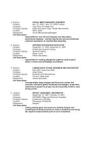 Merchandiser Job Description Resume by Retail Visual Merchandising Resume Corpedo Com