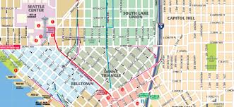 New Orleans Street Map Pdf by Map Of Downtown Seattle Interactive And Printable Maps