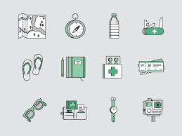 Washington travel icons images Travel icons set sketch freebie download free resource for jpg