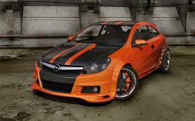 opel orange opel astra gt front by stefanmarius on deviantart