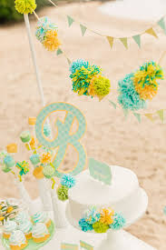 yellow baby shower ideas blue yellow gender neutral baby shower ideas baby showers