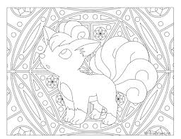 037 vulpix pokemon coloring page windingpathsart com