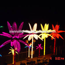 made in china artificial led light palm tree dubai view palm tree