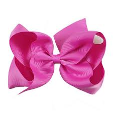 ribbon hair clip online shop 32pcs lot 6 big hair bow solid ribbon hair bows