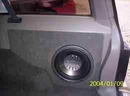 jeep wood box sub box question
