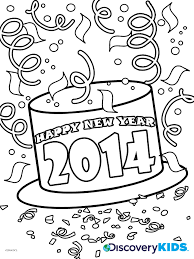 new year kids book happy new year coloring page discovery kids