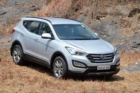 hyundai santa fe sport price in india hyundai santa fe india review test drive autocar india