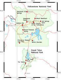 maps the yellowstone teton epicenter