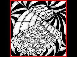 Spooled A Easy Zendoodle Pattern