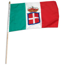 Green Red And White Flag Kingdom Of Italy Navy Ensign 1848 1946 12