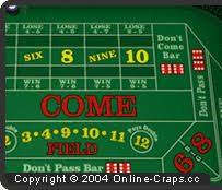 Craps Table Odds Layout And Bets At Craps Table Online Craps Cc The Craps