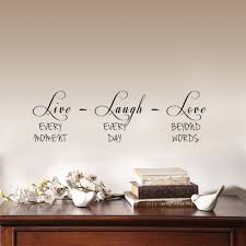 live laugh love home decor live laugh love inspirational quote wall stickers vinyl decor