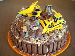 sew incredibly crafty construction site cake