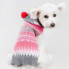 pet sweater hoodies small knit sweater with hooded
