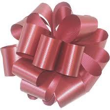 poly ribbon q46967 9 plain poly ribbon burgundy
