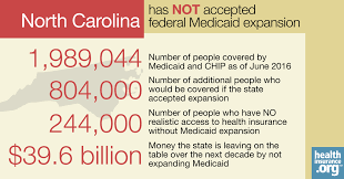 north carolina and the aca u0027s medicaid expansion eligibility